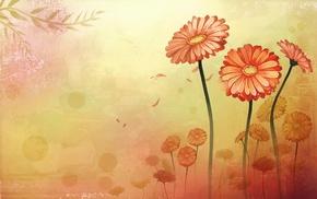 flowers, petals, creative, beautiful, flower