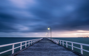 light, Australia, ocean, nature, sky