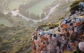 mountain, height, nature