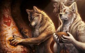 smoke, fantasy, cave