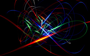 background, abstraction, blue, red, green