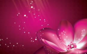 petals, flower, background, flowers, pink