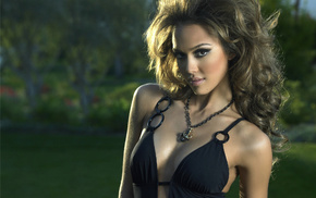 boobs, swimwear, Jessica Alba, light brown, girls