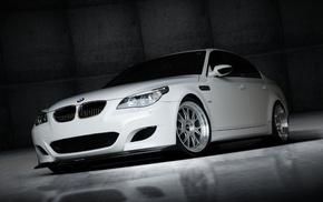 white, wheels, BMW, cars