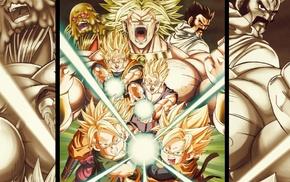Dragon Ball, Gohan, Broly, Goten, Trunks character, Kamehameha