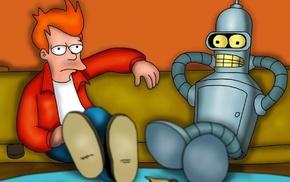 Futurama, Bender, Philip J. Fry