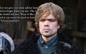 Peter Dinklage, quote, Tyrion Lannister, Game of Thrones
