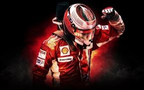 Scuderia Ferrari, sports, Kimi Raikkonen, Formula 1
