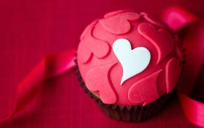 heart, dessert, delicious