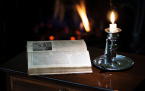 stunner, book, candle