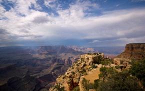 nature, canyon, rocks