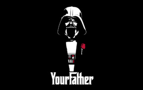 Star Wars, The Godfather, father, Darth Vader