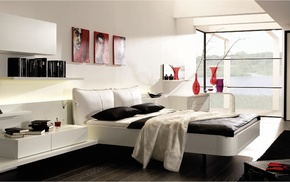 house, room, style, villa, interior