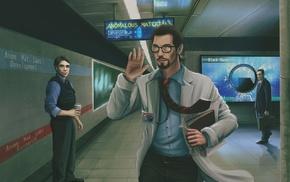 video games, Barney Calhoun, Gordon Freeman, G, Man, Half
