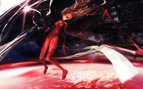 anime girls, Asuka Langley Soryu, Neon Genesis Evangelion