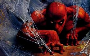 digital art, Spider, Man, drawing, comics, Peter Parker
