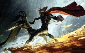 comics, Thor, Loki