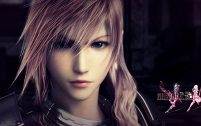 blue eyes, video games, Final Fantasy XIII 2, pink hair, Final Fantasy XIII, Claire Farron