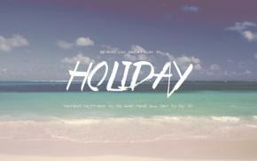 beach, holiday, summer, typography, sea