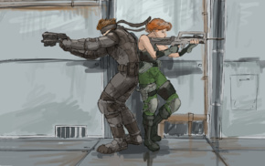 Metal Gear Solid, Solid Snake