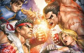 Ryu Street Fighter, Chun, Li, Jin Kazama, Tekken, Street Fighter