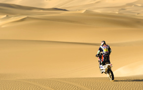 sports, motorcycle, sand, desert