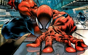 Spider, Man, superhero, Marvel Comics, comics, comic art