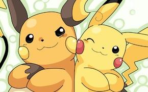 Pikachu, anime, Raichu