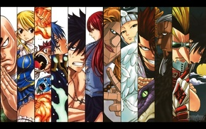 Scarlet Erza, Oracion Seis, anime, Fairy Tail, Jellal Fernandes, Fullbuster Gray