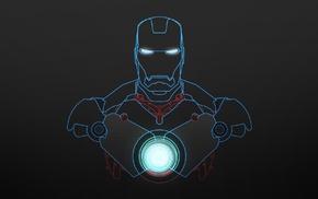 blueprints, Iron Man, abstract