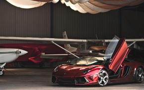 Lamborghini Aventador, машина