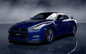 Nissan GT, R, video games, car, Nissan Skyline GT, R R35