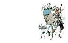 Raiden, artwork, video games, concept art, Metal Gear Solid, Metal Gear