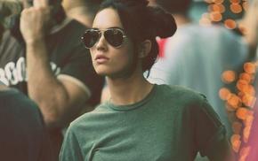 модель, солнечные очки, девушка, Мэган Фокс, лицо