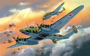 aircraft, airplane, art, art