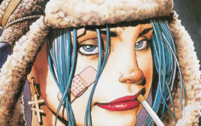 Tank Girl, artwork