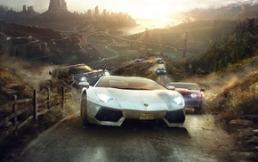 The Crew, video games, Ubisoft, car