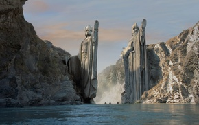 The Lord of the Rings The Fellowship of the Ring, The Lord of the Rings, Argonath