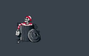 humor, skeleton, simple, Waldo