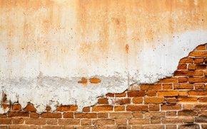 bricks, wall