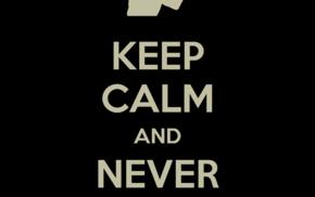 black, Keep Calm and..., dark