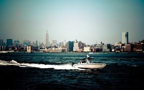 city, New York City, skyscrapers, America, cities