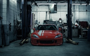 Honda, garage, cars