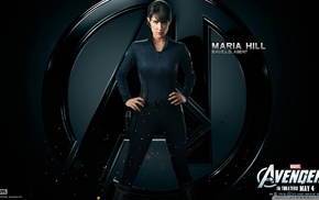 The Avengers, S.H.I.E.L.D., movies, hands on hips, Maria Hill, Cobie Smulders