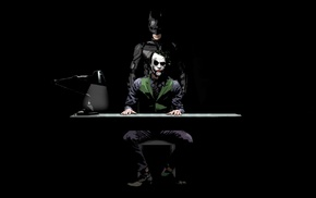 The Dark Knight, Joker, MessenjahMatt, movies, Batman