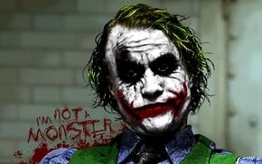 The Dark Knight, Batman, MessenjahMatt, Joker, movies