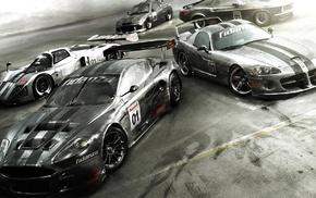 Форд, Aston Martin, Ford Mustang, маслкар, машина