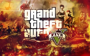 video games, Grand Theft Auto V, Rockstar Games