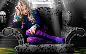 Chlo Grace Moretz, movies, blonde, Dark Shadows, stockings