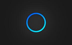 minimalism, circle